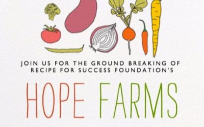Celebrate Earth Day at Hope Farms Groundbreaking