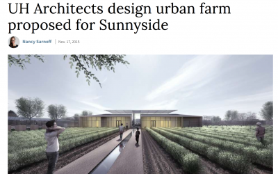 UH Architects Design Urban Farm for Sunnyside